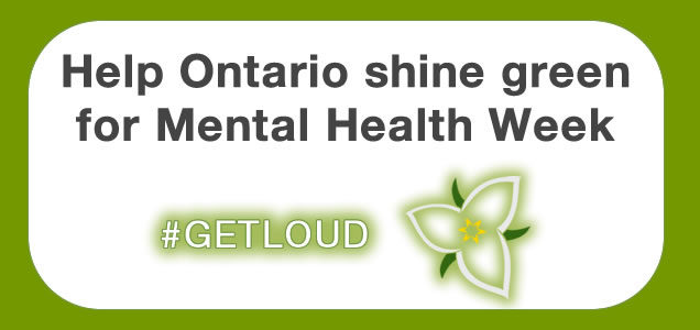 Join the green movement during Mental Health Week
