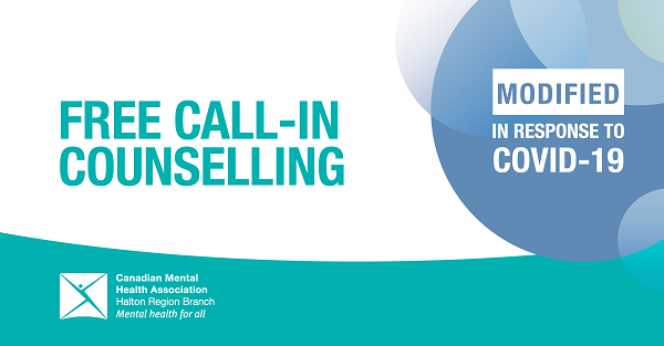 """Banner saying """"Free Call-In Counselling"""""""